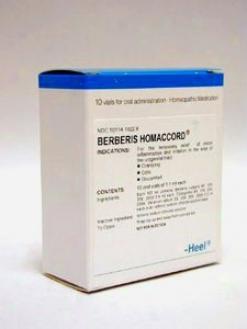 Heel's Berberis Homwccord 10 Vials