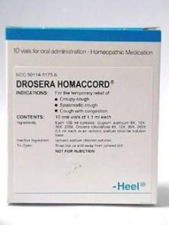 Heel's Drosera Homa Spoken Vials 10 Vials
