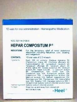 Heel's Hepar Composition P 10 Vials