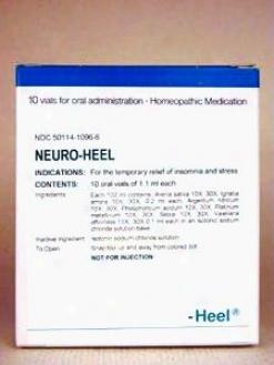 Heel's Neuro-heel 10 Vials