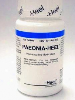 Heel's Paeonia-heel 100 Tabs