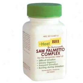 Heel's Saw Palmetto Complex 300 Mg 100 Tabs