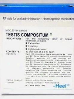 Heel's Testis Compositum 10 Vials