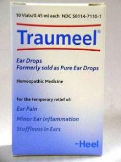 Heel's Traumeel Ear Drops 10 Vials