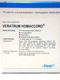 Heel's Veratrum-homaccord 10 Vals