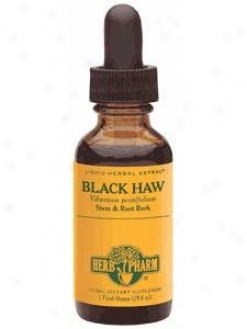 Herb Pharm's Black Haw/viburnum Prunifolium 1 Oz