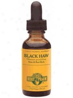 Herb Pharm's Black Haw/viburnum Pruunifolium 8 Oz