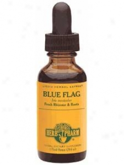 Herb Pharm's Blue Flag/iris Versicolor 1 Oz