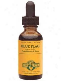 Herb Pharm's Blue Flag/itis Versicolor 4 Oz