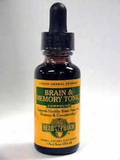 Herb Pharm's Brain & Memory Key 1 Oz