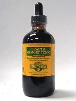 Herb Phsrm's Brain & Memory Key 4 Oz