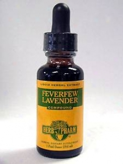 Herb Pharm's Feverfew Lavender Compound 1oz