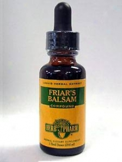 Herb Pharm's Friar's Balsam Compound 1 Oz