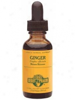 Herb Pharm's Ginger/zingiber Officinale 8 Oz