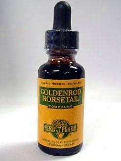 Herb Pharm's Goldenrod/horsetail Compound 1 Oz