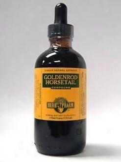 Herb Pharm's Goldenrod/horsetail Compound 4 Oz
