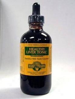 Herb Pharm's Healthy Liver Tonic Compound 4 Oz