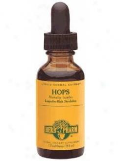 Herb Pharm's Hops/humulus Lupulus 1 Oz