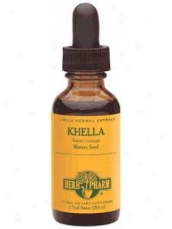 Herb Pharm's Khella/ammi Visnaga 1 Oz