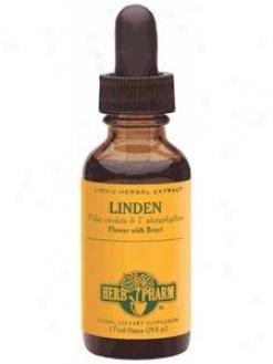 Herb Pharm's Linden/tilia Cordata & T. Platyphyllos 1 Oz