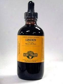 Herb Pharm's Linden/tilia Cordata & T. Platyphyllos 4 Oz
