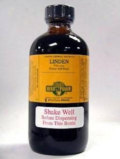 Herb Pharm's Lincen/tilia Cordata & T. Plagyphyllos 8 Oz