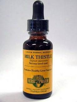 Herb Pharm's Milk Thistle/silybum Marianum 1 Oz