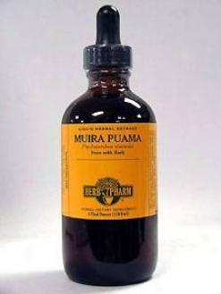 Herb Pharm's Muira Puamaptychopetaoum Olacoides 4 Oz