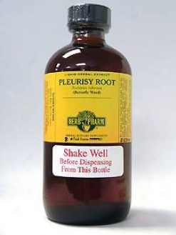 Herb Pharm's Pleurisy Root/asclepias Tuberosa 8 Oz