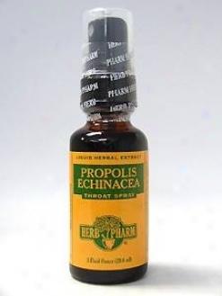Herb Pharm's Propolis/echinacea Throat Spray 1 Oz