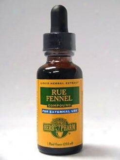 Herb Pharm's Rue/fennel Compound 1 Oz