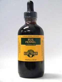 Herb Pharm's Rue/fennel Compound 4 Oz