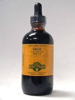 Herb Pharm's Sage/salvia Officinalis 4 Oz