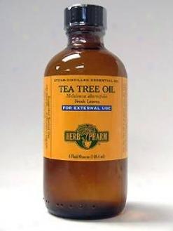 Herb Pharm's Tea Tree Oil/melaleuca Alternifolia 4 Oz