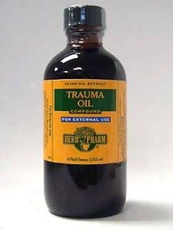 Herb Pharm's Trauma Oil Compound 4 Oz
