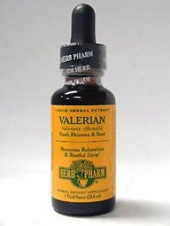Herb Pharm's Valerian/valeriana Officinalis 1 Oz