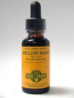 Herb Pharm's Willow Bark/salix Lucida 4 Oz