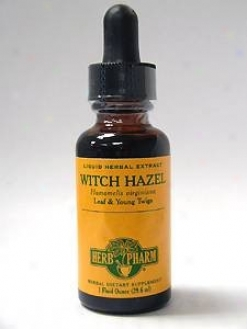 Herb Pharm's Witch Hazel/hamamelis Virginiana 1 Oz