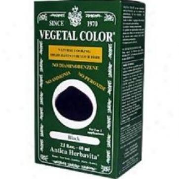 Herbatint's Vegetal Black 2 Fl Oz