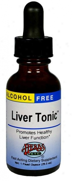 Herbs Etc Alcohol Free Liver Tonic 1oz