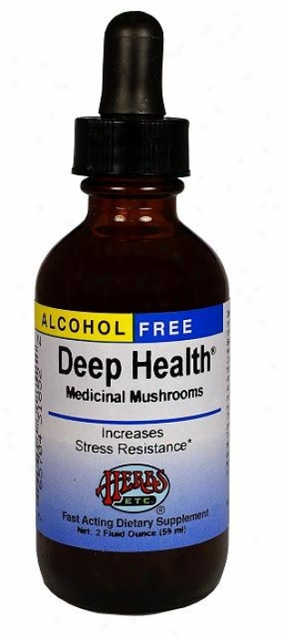 Herbs Etc Deep Health 2oz Alcohol Free