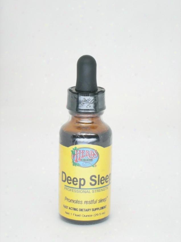 Herbs Etc Deep Sleep 1oz (contains Grain Alcohol)