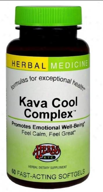 Herbs Etc Kava Cool Complex 60sg