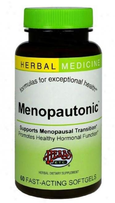 Herbs Etc Menopautonic 60sg