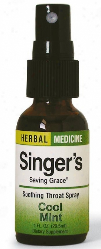 Herbs Etc Singers Saving Grace Cool Mint 1oz