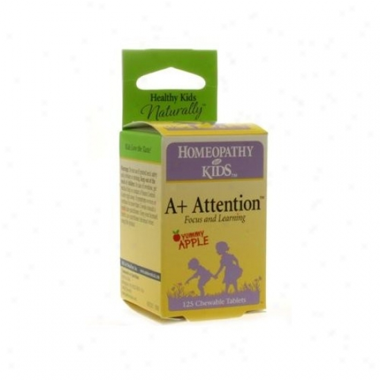 Herbs For Kids A+ Attention Chewables 125tabs