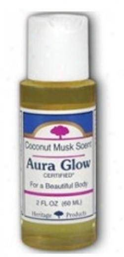 Inheritance Products Aura Glow Coconut 2 Fl Oz
