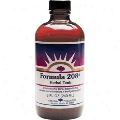 Heritage Products Formula 208 8 Fl Oz