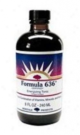 Heritage Products Formula 637 Energizing Tonic 8 Fl Oz