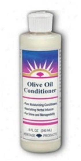 Heritage Products Olivd Oil Conditioner Gardenia & Lavender 16oz